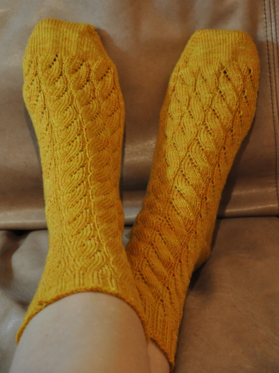 Seaweed Socks by Wendy Johnson