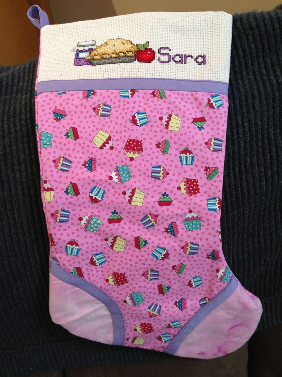 Sara's Stocking