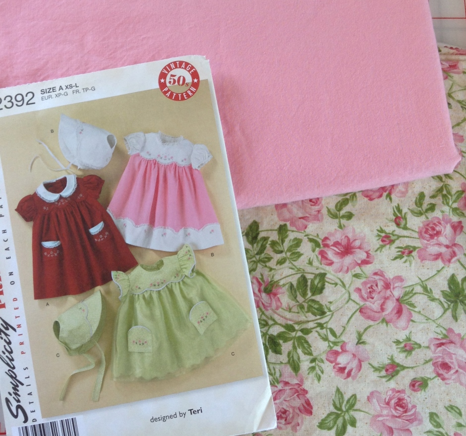 Pattern #2392 and Fabric