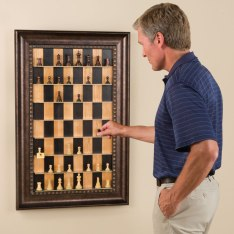 Vertical Chess Set