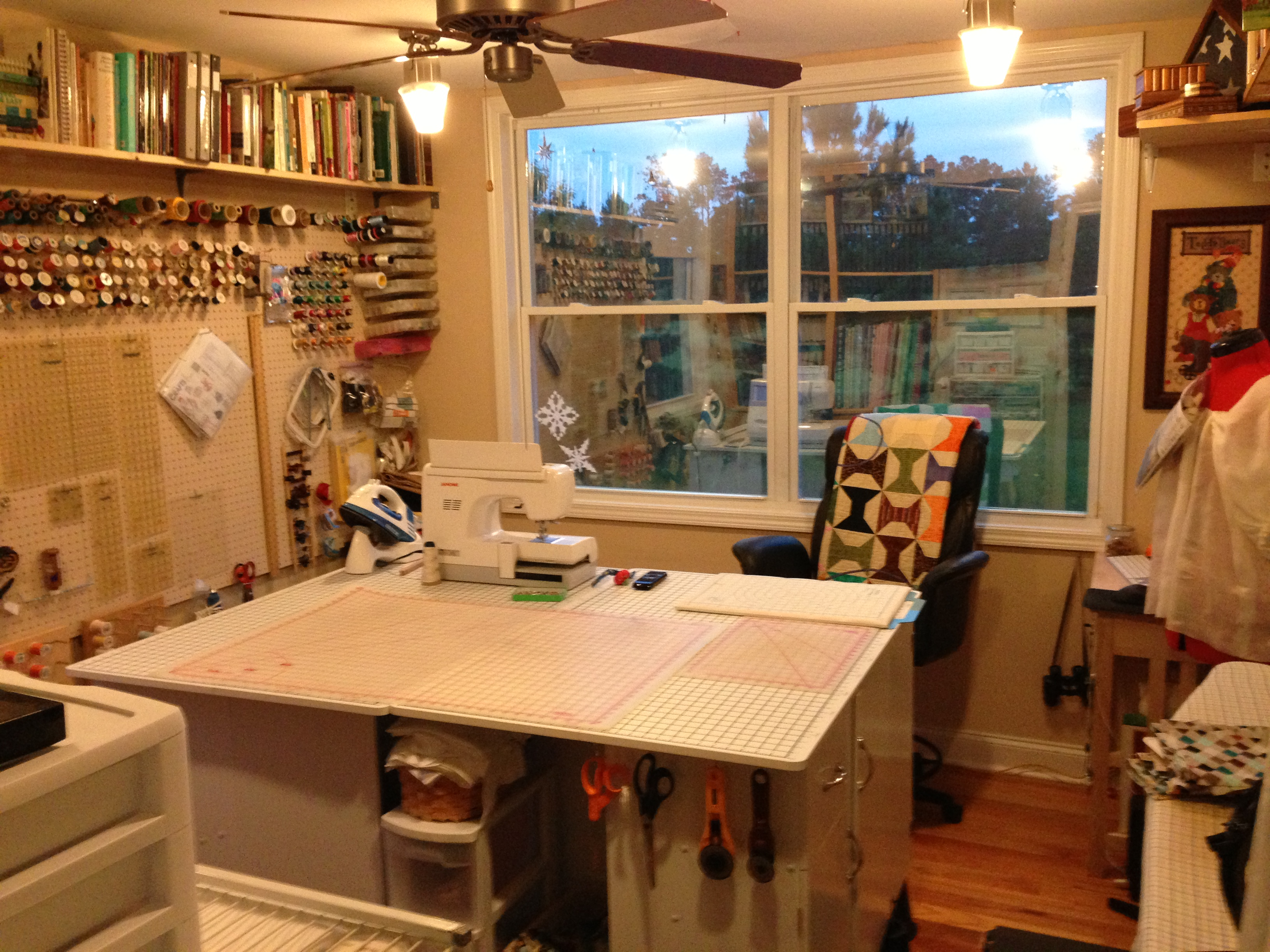 sewing room update growing ever closer to the perfect