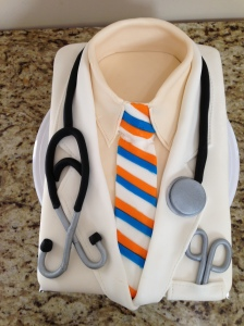 Chris Michelson's White Coat Cake