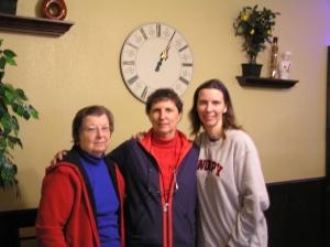 Frances, Georgia, and Deborah - 3 generations
